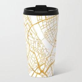 BASEL SWITZERLAND CITY STREET MAP ART Travel Mug