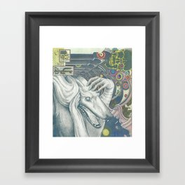 Behind the Mayor's House Framed Art Print