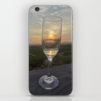 champagne iPhone & iPod Skins featuring Champagne by RubenBer
