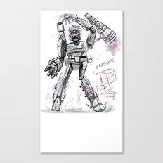 Megatron Contest Weirdo Canvas Print