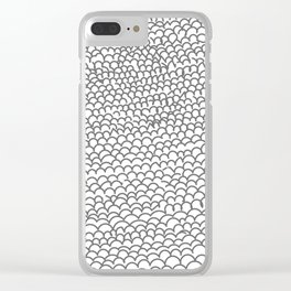 Noodle Doodle Clear iPhone Case