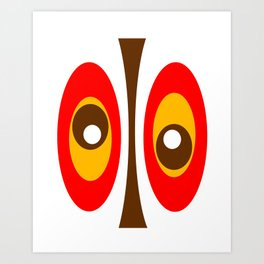 Crash Pad Designs 84 Art Print
