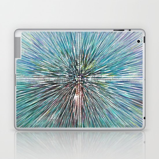 Digital Art Abstract Laptop & iPad Skin