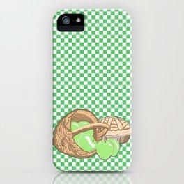 Basket of Granny Smith Apples & Pie iPhone Case