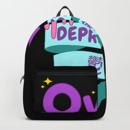 Yami Kawaii UwU OwO Whats This Pastel Goth Gift Backpack