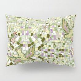 Bird Mosaic Pillow Sham