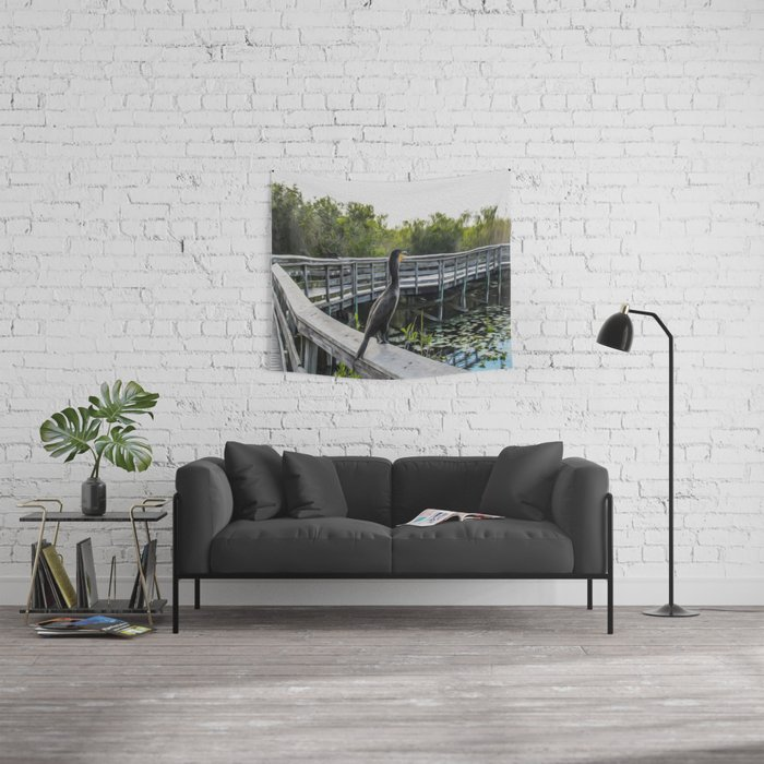 The Cormorant Wall Tapestry