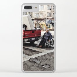 Crossing life Clear iPhone Case