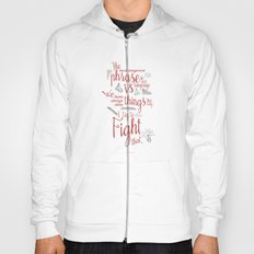 Grace Hopper sentence - I always try to Fight That - Color version, inspiration, motivation, quote Hoody