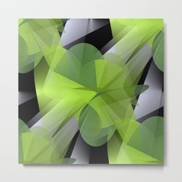 3D abstraction -05- Metal Print