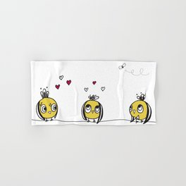 3 birds Hand & Bath Towel