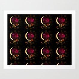 Pink Ball Art Print