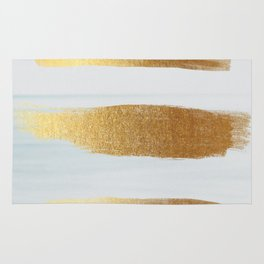 Golden sea Rug
