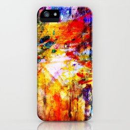 color bombs iPhone Case