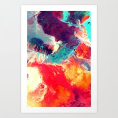 Synthesize Art Print