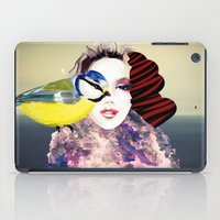 no face iPad Cases featuring Face by Cs025