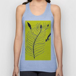 Dream Tree (also known as Narrow Leaf Fuschia or Native Fuchsia - Eremophila alternifolia Unisex Tank Top