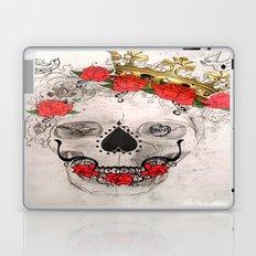 Skull With Crown Laptop & iPad Skin