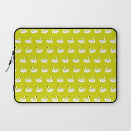 SWANS ((chartreuse)) Laptop Sleeve