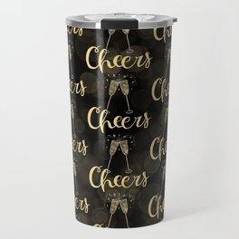 Cheers To The New Year Travel Mug