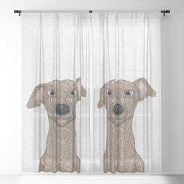 Fawn Iggy Sheer Curtain