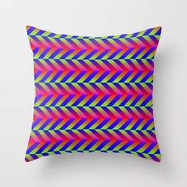 Zig Zag Folding Throw Pillow