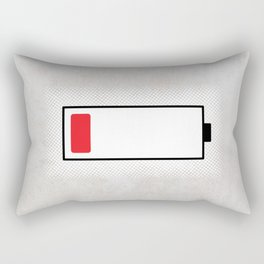 Baymax Low Battery Rectangular Pillow