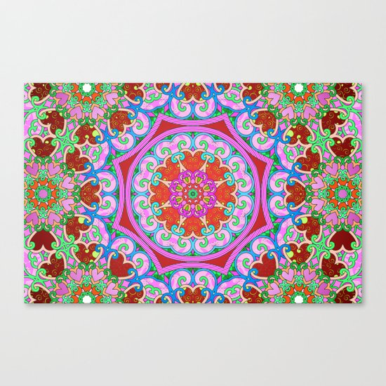 Tons of Love Canvas Print
