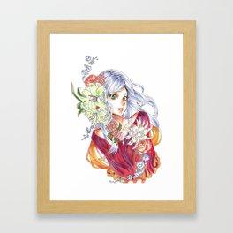 Hana Framed Art Print
