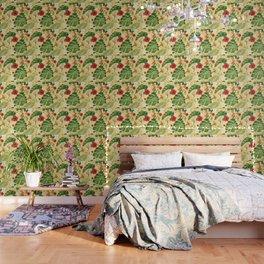 Tropical Flower Background 2 Wallpaper