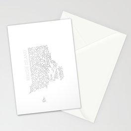 Rhode Island LineCity W Stationery Cards