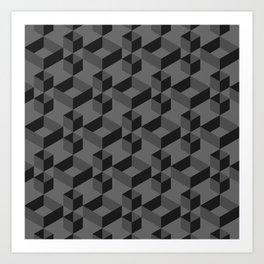 Black box Art Print