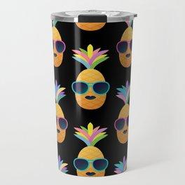 Punk Pinapples Travel Mug