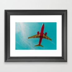 Landing to the Southwest Framed Art Print
