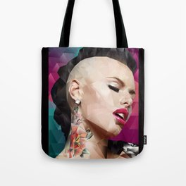 Christy Mack is back. Tote Bag
