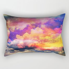 lollipop sunset Rectangular Pillow