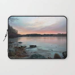 Connecticut Lake Sunrise Laptop Sleeve