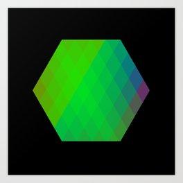 Hexagon? Art Print