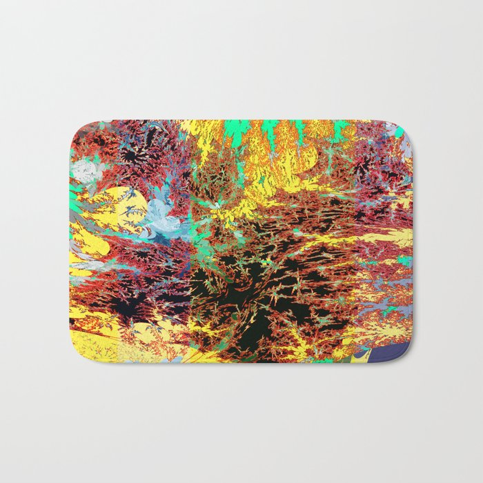 deep jungle II Bath Mat