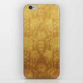 Victorian Potpourri - Faded Splendor Rich Satin - TOPAZ iPhone Skin