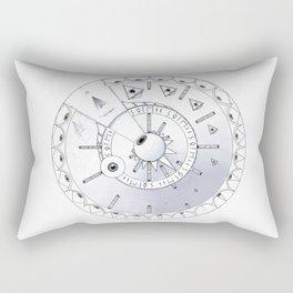 Glyph Phénakisticope Rectangular Pillow