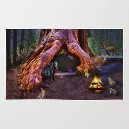 Magic in the Forest Rug