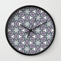 parks Wall Clocks featuring Looping Parks by Anna Schoenberger