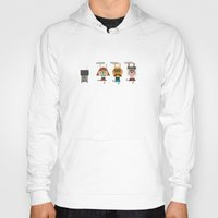 video game Hoodies featuring Video game by Miguel Ordonez