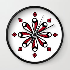 Red star Wall Clock