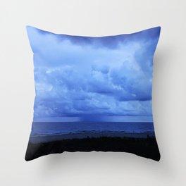 Batten Down the Hatches Throw Pillow