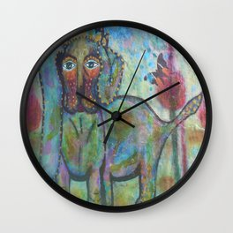 PoppaLop - Whimsies of Light Children Series Wall Clock