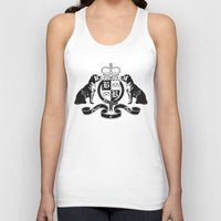 logo Tank Tops featuring logo by BREED & BULL