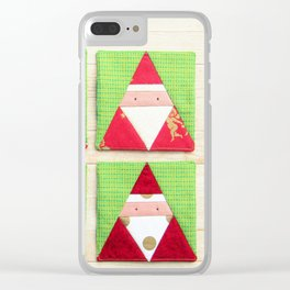 Santa Claus brothers Clear iPhone Case
