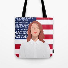 National Anthem Tote Bag